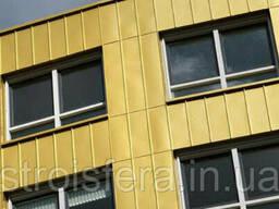 Фасадные материалы Алюминий