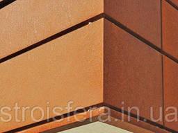Фасадные материалы Cor-Ten