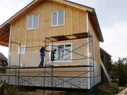 Фасадные работы. Ремонт и отделка фасадов