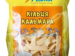Фасовані рибні снеки ТМ Царська рибка Кальмар кільця 18 г /36 г