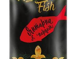 Фасовані рибні снеки ТМ Royal Fish Янтарна з перцем 16 г