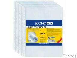 Файл А4 30 мкн матовый (100 шт) Economix