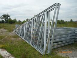 Фермы металлические односкатные длина 6,0 м
