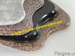 Фигурная обработка торцов гранита,фигурная фаска