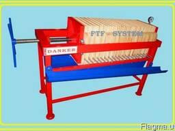 Фильтр-пресс рамочный, напорный. FTF-system