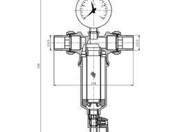 """Фильтр самопромывной SD Forte 3/4"""" для воды"""