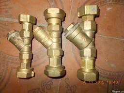 Фильтр сетчатый латунный Ду15-Ду50