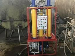 Фильтр тонкой очистки растительных масел с системой подогрев