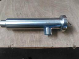 Фильтр трубный угловой нержавеющий DIN Dn 50 AISI 304