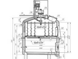 Фильтр чан-вирпул 0,5 м3 из нержавеющей стали