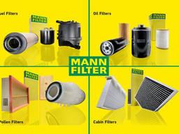 Фильтры MANN Filter воздушные, масляные, гидравлические, топливные