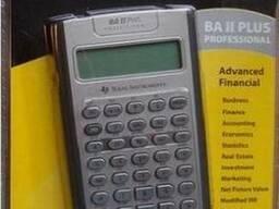 Финансовый калькулятор BA II Plus Professional Pro Texas Ins