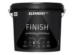 Финишная акриловая шпаклевка Finish Element PRO