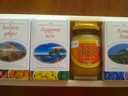 Фиточай и мед в наборе