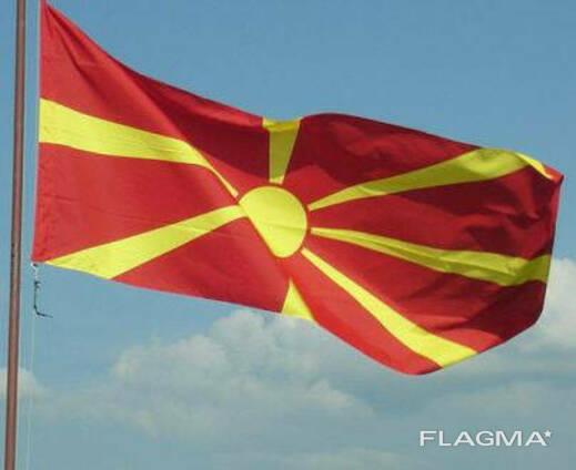 Флаг Северной Македонии 150х90 см