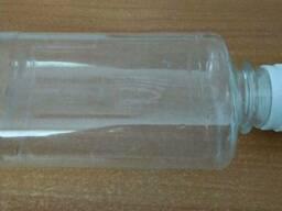 Флакон\бутылка пластиковая 200мл с крышкой