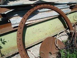 Фланцы диаметр 1420 мм, 4 шт.
