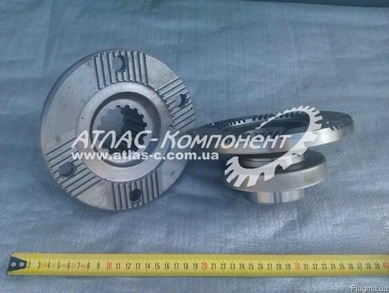 Фланец реуктора, раздатки, кардана с отражателем ISO КрАЗ