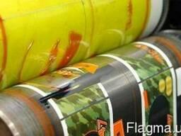 Флексографическая печать на рулонном материале