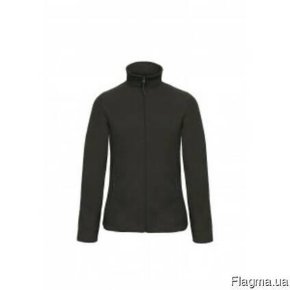 Флисовая куртка женская на молнии без капюшона