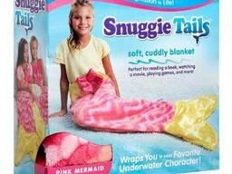 Флисовый плед для детей Snuggie Tails Mermaid