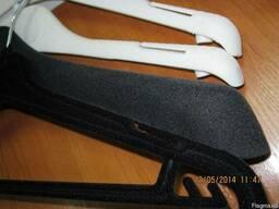 Флокированные бархатные плечики, вешалки для любой одежды