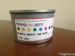 Флуоресцентные и защитные уф краски TOYO для офсетной печати