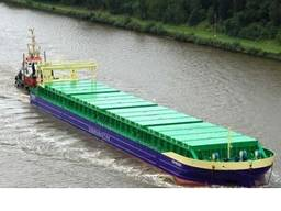 For sale their 2 non-selfpropelled dry cargo hold barges