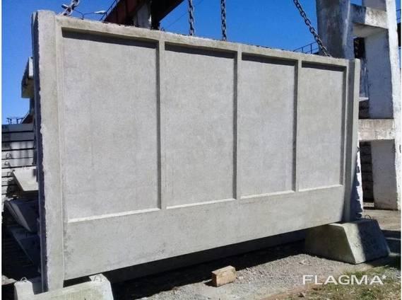 Форма для бетонного паркану П5В