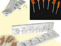 Форма для приготовления леденцов «Рыбки мишки белочки»
