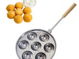 Форма для приготовления творожных и сырных шариков