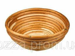 Форма для расстойки из лозы для хлеба круглая на 0, 8 кг