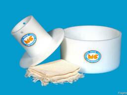 Форма для сыра круглого до 2. 5кг под серпянку