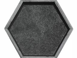 Форма для тротуарной плитки Шестигранник (шагрень) 205х178х45 Украина 1 шт