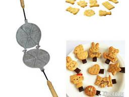 Форма для выпечки крекеров и детского печенья - 12 крекеров