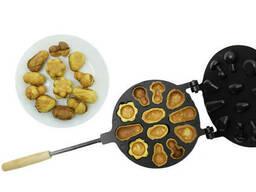 Форма для выпечки орешков и печенья орешница «Лесное. ..