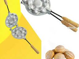 Форма для выпечки орешков Орешница — 8 цельных орехов без. ..