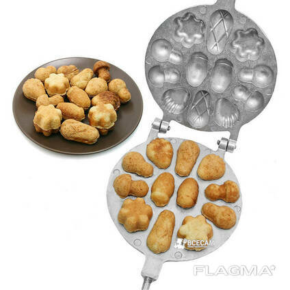 Форма для выпечки орешков с начинкой орешница для. ..