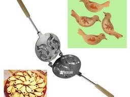 Форма для выпечки пасхального печенья в виде птиц «Жаворонки» (Птицы)