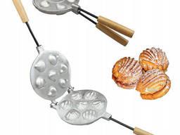 Форма для выпечки печенья «Курабье» (7 ракушек)