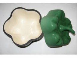 Форма для запекания чугунная Alpari Перчик 0, 5л (зеленый)