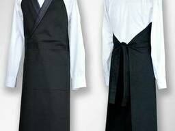 Форма официанта: рубашки классическая, бабочки и фартука