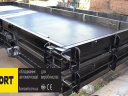 Форма для виробництва дорожніх бетонних плит