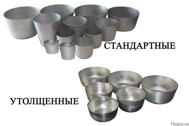 Формы для выпечки куличей и пасок.