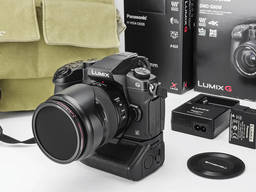 Фотоаппарат Panasonic Lumix G80 DMC G80M, комплектация подарок.