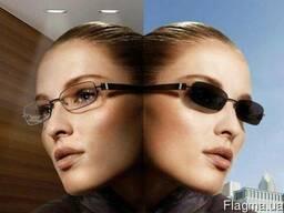 Фотохромные (полимерные) линзы для очков.