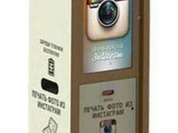 Фотокиоск печать фото с instagram или фотобудка инстаграм