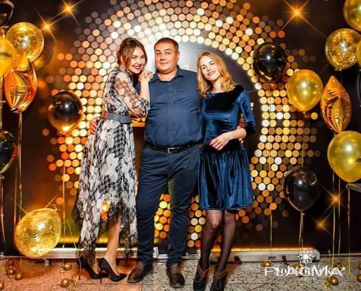 Фотозона на новый год, новогодняя фотозона, банер, баннер, новогодний корпоратив