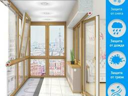 Французский балкон, француз дёшево под ключ