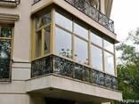 Французское, панорамное остекление балкона цена, рассрочка - фото 1